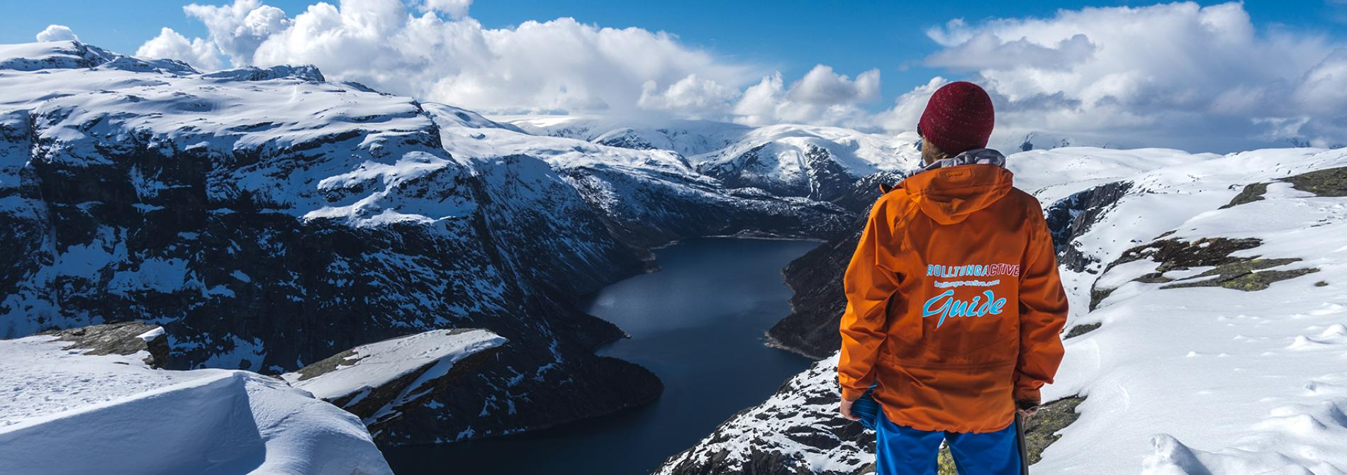 Trolltunga Active: Trolltunga Winter with Guide